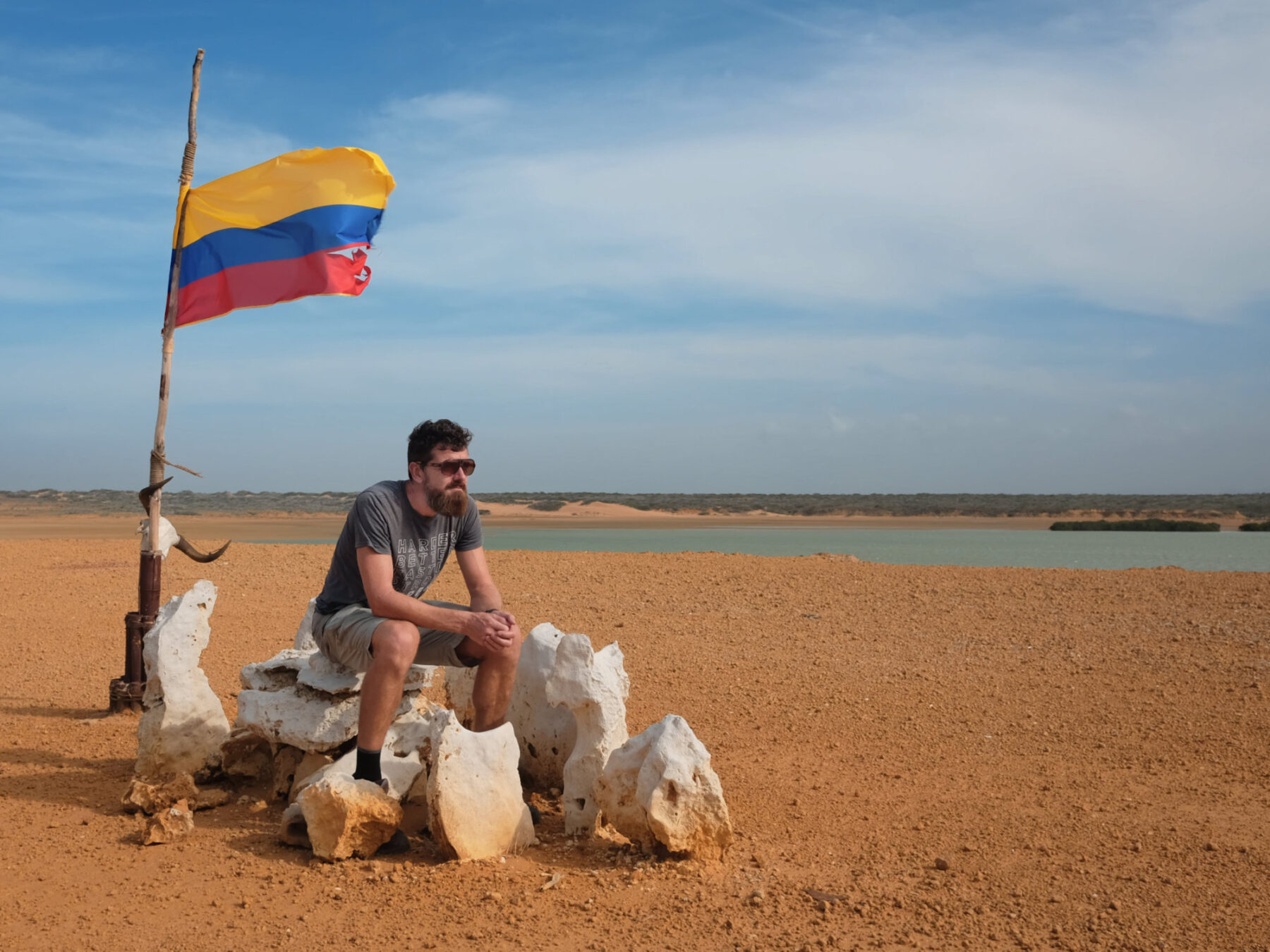 James This Big Road Trip Punta Gallinas Colombia